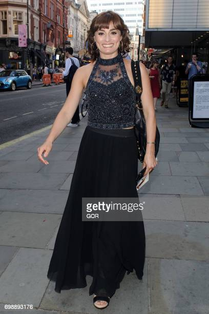 Flavia Cacace arriving at the St Martins Lane hotel on June 20 2017 in London England