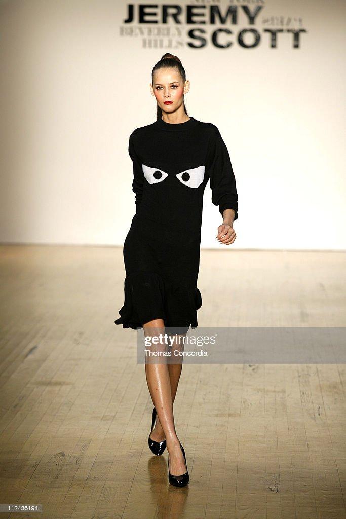 Olympus Fashion Week Fall 2006 - Jeremy Scott - Runway
