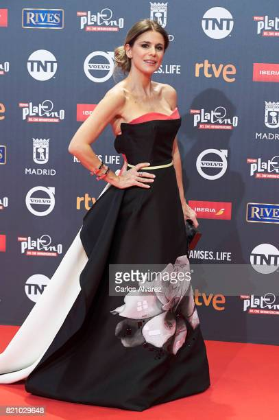 Flavia Palmiero attends the Platino Awards 2017 photocall at the La Caja Magica on July 22 2017 in Madrid Spain