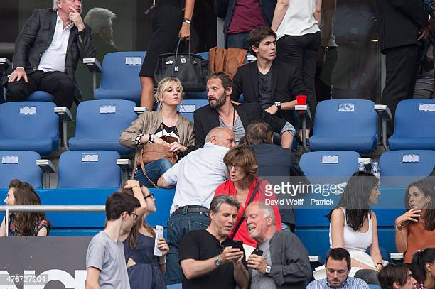 Flavie Flament attends Paul McCartney Show at Stade de France on June 11 2015 in Paris France