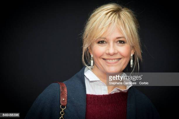 Flavie Flament attends the RTLRTL2Fun Radio Press Conference to Announce Their TV Schedule for 2017/2018 at Cinema Elysee Biarritz on September 13...