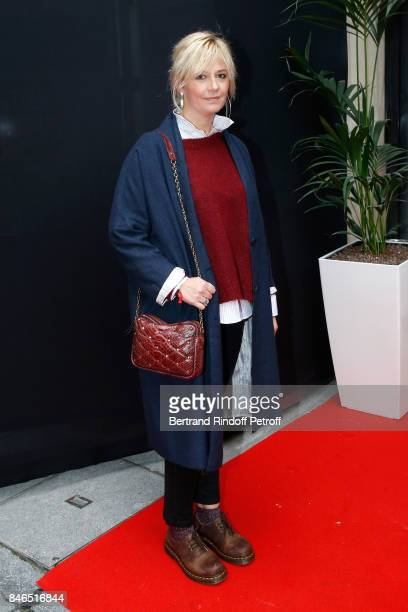 Flavie Flament 'On est fait pour s'entendre' on RTL attends the RTL RTL2 Fun Radio Press Conference to announce their TV Schedule for 2017/2018 at...