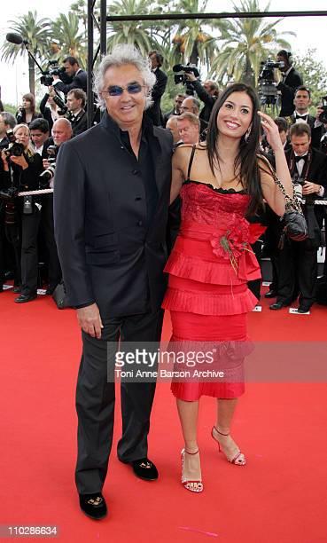 Flavio Briatore and Italian model Elisabetta Gregoraci
