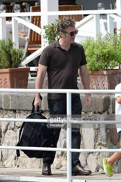Flavio Cattaneo is seen at the 2013 Ischia Global Fest on July 14 2013 in Ischia Italy
