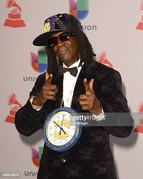 Flavor Flav attends the 15th Annual Latin GRAMMY Awards at the MGM Grand Garden Arena on November 20 2014 in Las Vegas Nevada