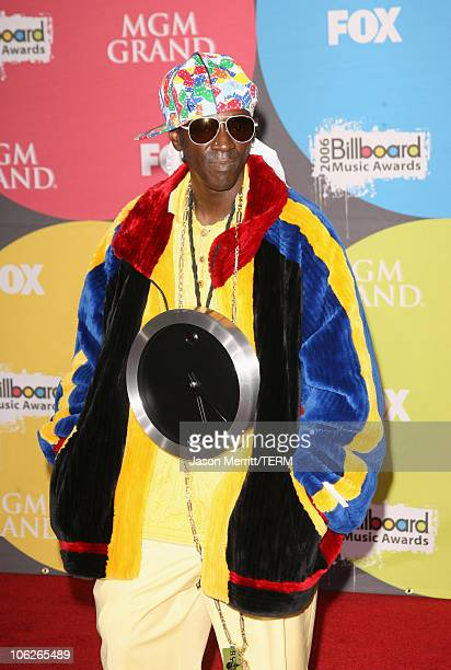Flavor Flav during 2006 Billboard Music Awards Arrivals at MGM Grand Hotel Casino in Las Vegas Nevada United States