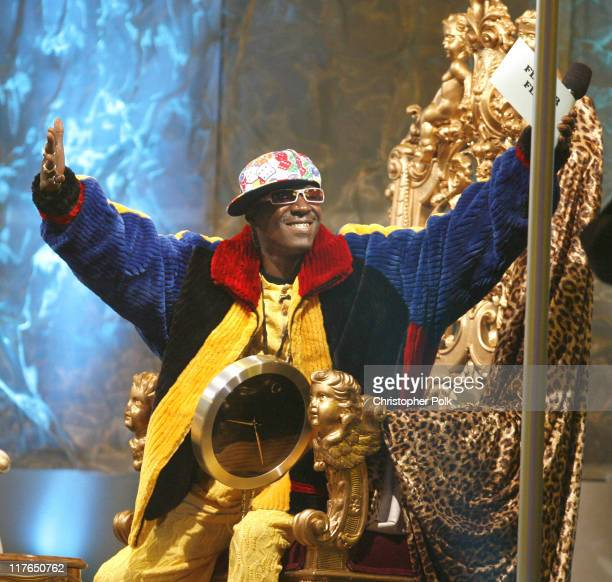 Flavor Flav presenter during VH1 Big in '06 Show at Sony Studios in Los Angeles California United States