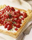 Flavorful custard pastry