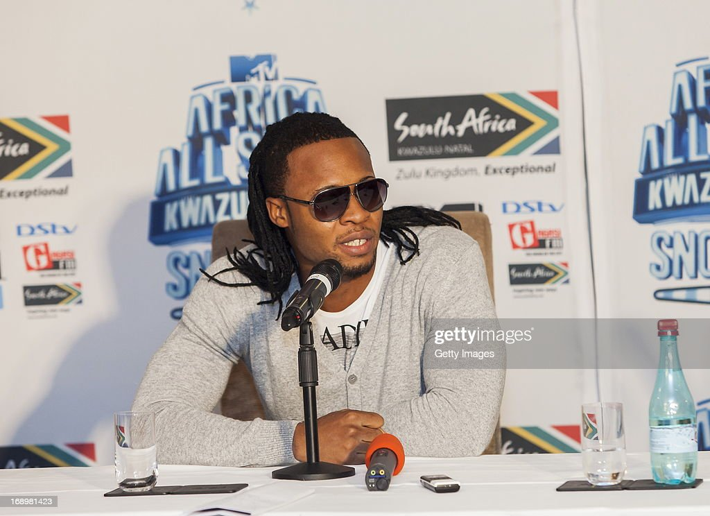 Flavour at the press conference for the MTV Africa All Stars Concert on May17, 2013 in Durban, South Africa. Snoop Dog or Snoop Lion as he is now also known will be the headline act for the Concert.