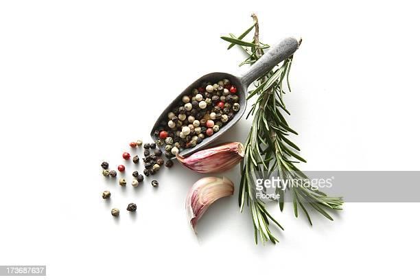 Flavouring: Knoblauch, Paprika und Rosmarin