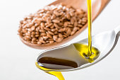 Image of fresh Flaxseed oil