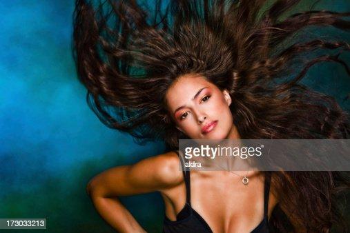 Flaying hair