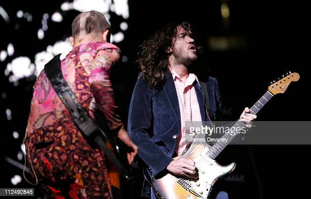 Flea and John Frusciante of the Red Hot Chili Peppers