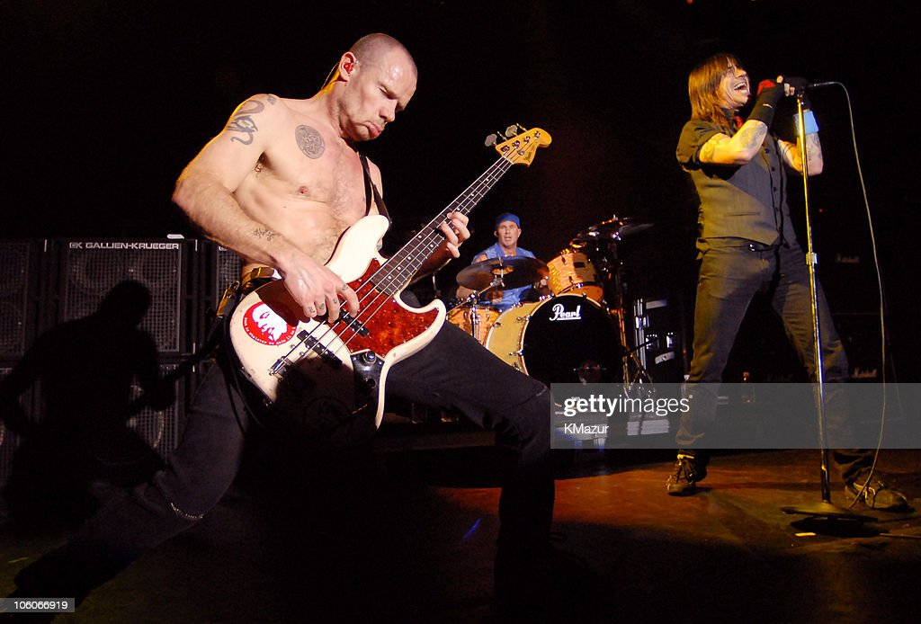 Red Hot Chili Peppers in Concert at Irving Plaza in New York City - May 8, 2006