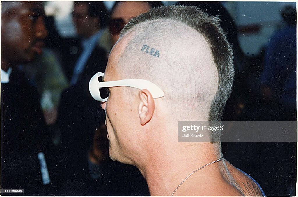 Flea during 1993 MTV Video Music Awards in Los Angeles California United States