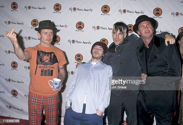 Flea John Frusciante Anthony Kiedis and Chad Smith