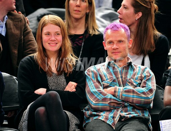 Flea Of The Red Hot Chili Peppers And Daughter Clara Balzary Attend