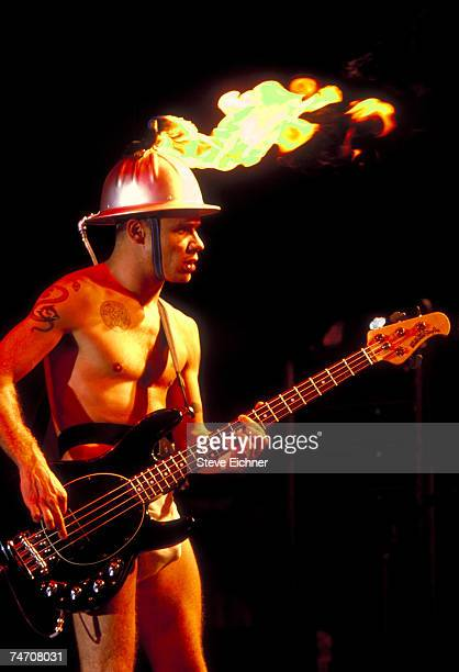 Flea of the Red Hot Chili Peppers at the Waterloo in Stanhope New Jersey