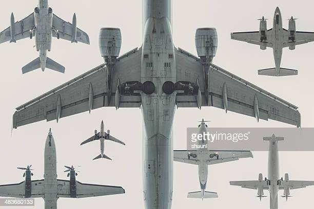 Fleet of Aircraft