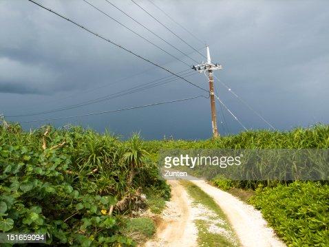 Fleeting sunlight in Southern Island : Stock Photo