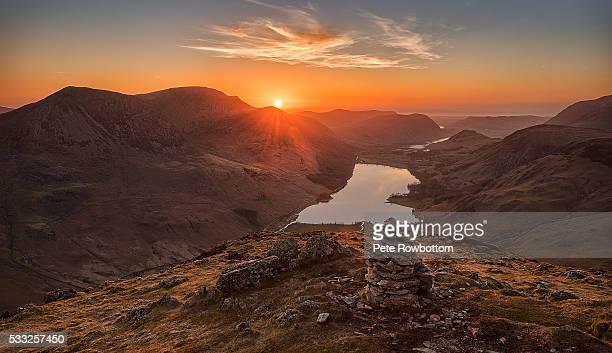 Fleetwith Pike sunset