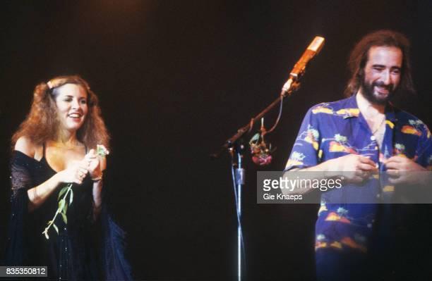 Fleetwood Mac Stevie Nicks John McVie Vorst Nationaal Brussels Belgium