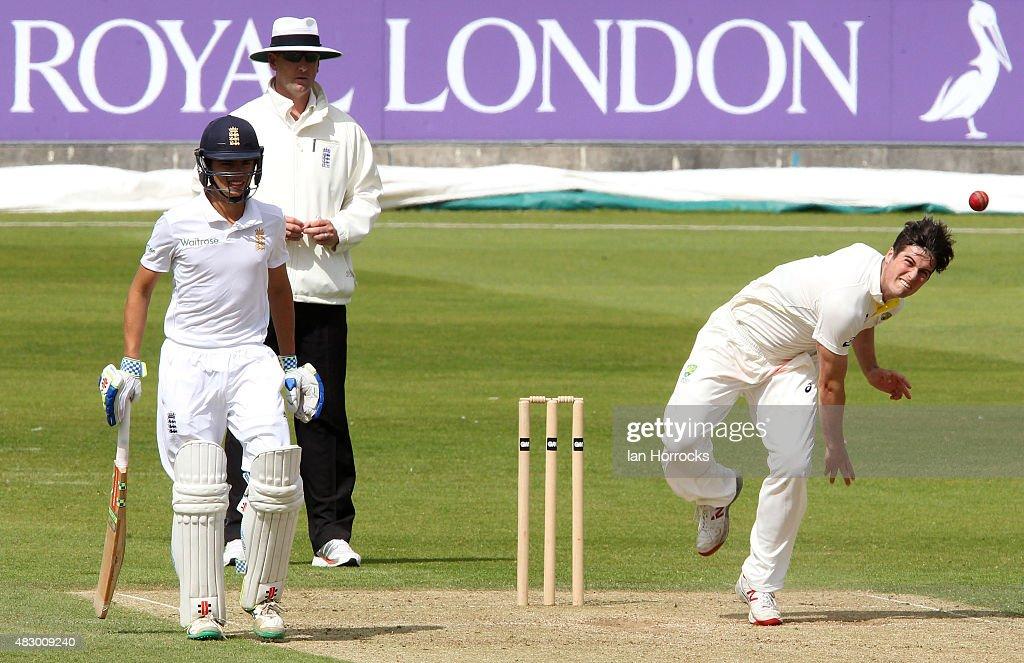 Seymour Australia  city photos : Fletcher Seymour of Australia during day two of the Under19 Test Match ...