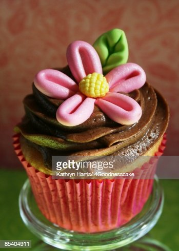 Fleur Cupcake Stockfoto Getty Images