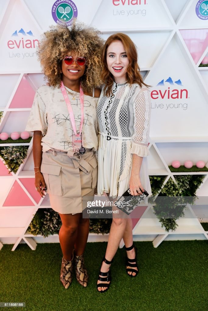 The evian Live Young Suite On Day 8 Of The Championships At Wimbledon 2017
