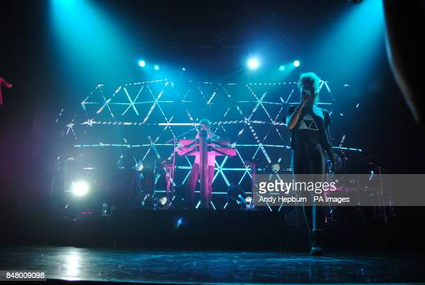 Fleur East and DJ Fresh on stage at the Koko in Camden London for Fresh Live