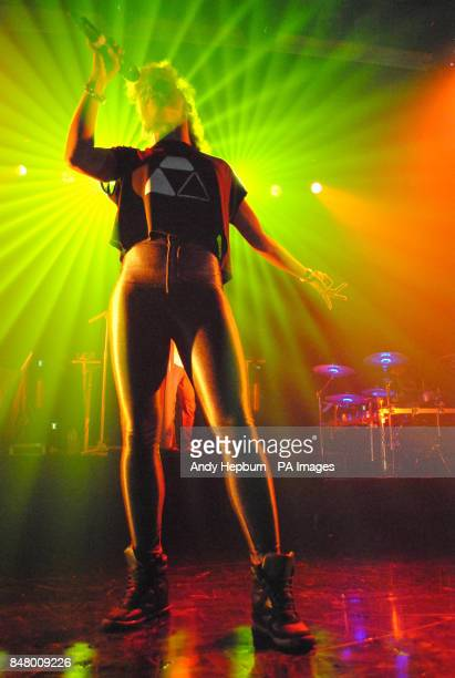 Live as DJ Fresh performs on stage at the Koko in Camden London