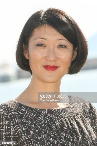Fleur Pellerin attends photocall for MIPTV 2017 Opening and New Cannes Television Series Festival launching in 2018 on April 3 2017 in Cannes France