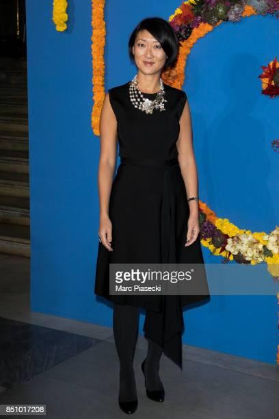 Fleur Pellerin attends the Opening Season gala at Opera Garnier on September 21 2017 in Paris France