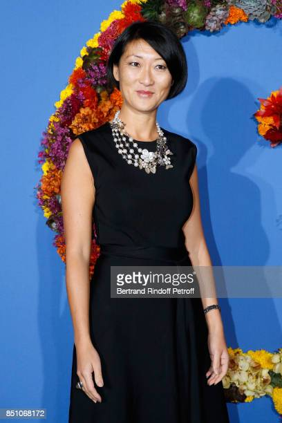 Fleur Pellerin attends the Opening Season Gala Ballet of Opera National de Paris Held at Opera Garnier on September 21 2017 in Paris France