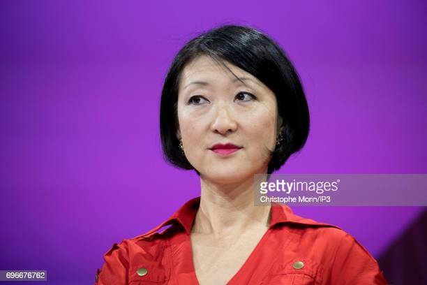 Fleur Pellerin Former French Minister and actual Partner at Korelya Capital attends a conference during Viva Technology at Parc des Expositions Porte...