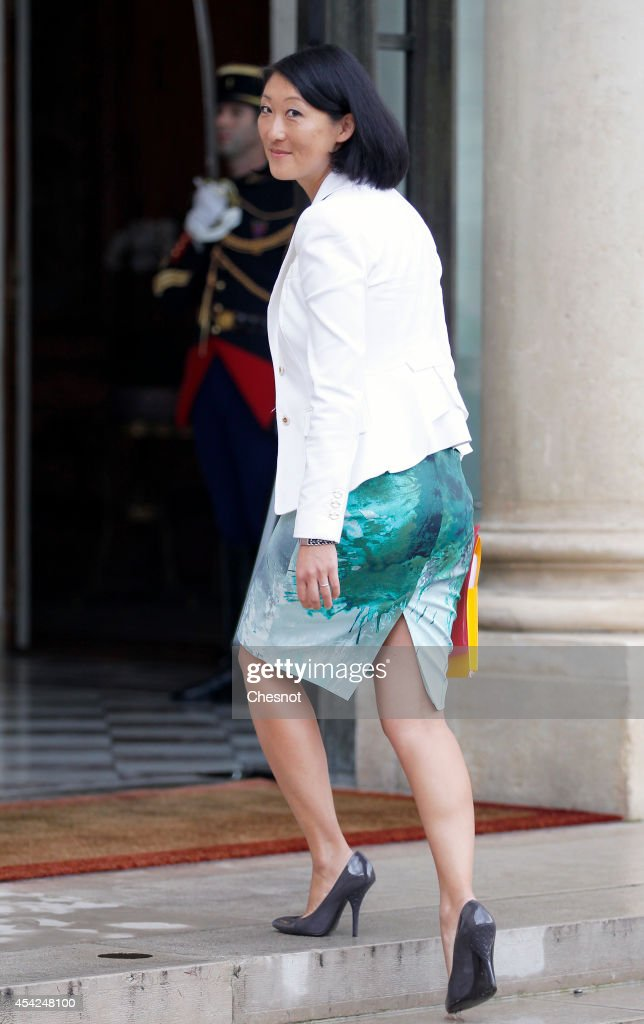 <a gi-track='captionPersonalityLinkClicked' href=/galleries/search?phrase=Fleur+Pellerin&family=editorial&specificpeople=8784076 ng-click='$event.stopPropagation()'>Fleur Pellerin</a>, French Culture Minister arrives at the Elysee presidential palace for a weekly cabinet meeting on August 27, 2014 in Paris, France. Francois Hollande was forced into the third major overhaul of his ministerial team in two years after a dispute over hauling the economy out of stagnation prompted the government's collapse.