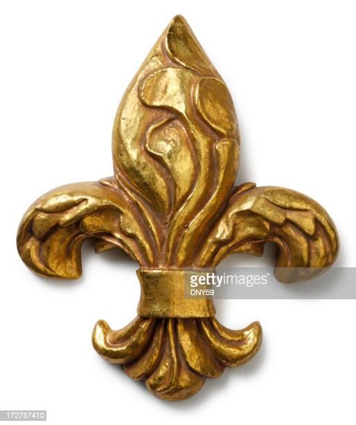 Fleur de lys stock photos and pictures getty images - Fleur de lys symbole ...