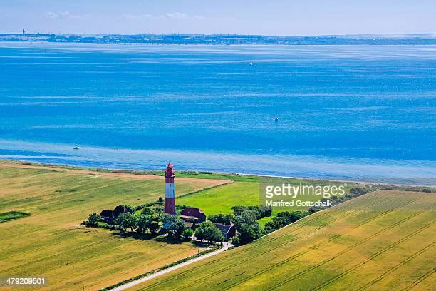 Fl?gge lighthouse Fehmarn Island