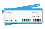 Flight tickets travel vacation boarding journey