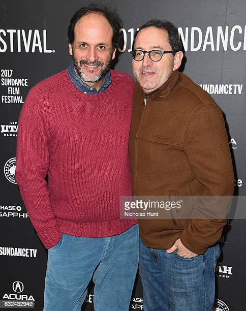Flimmaker Luca Guadagnino attends the 'Call Me By Your Name' Premiere on day 4 of the 2017 Sundance Film Festival at Eccles Center Theatre on January...