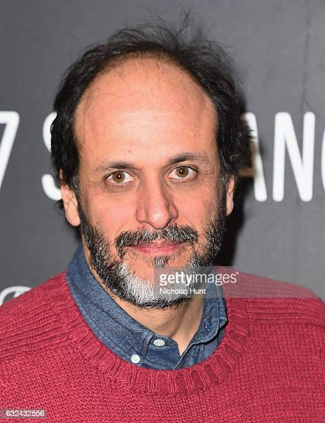 Flimmakers Luca Guadagnino attends the 'Call Me By Your Name' Premiere on day 4 of the 2017 Sundance Film Festival at Eccles Center Theatre on...