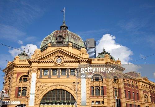 Flinders Street Station in Melbourne Australia