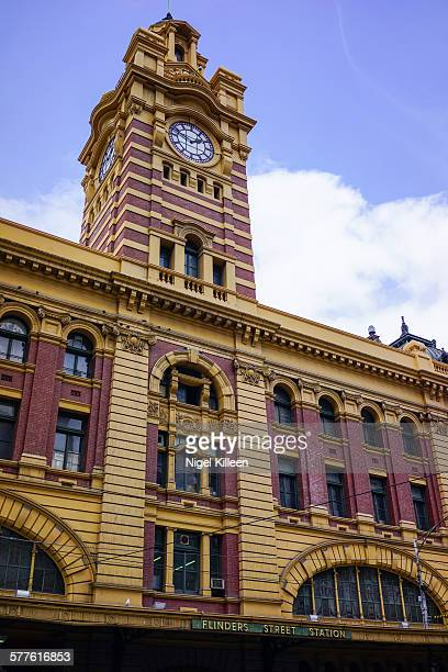 Flinders street train station