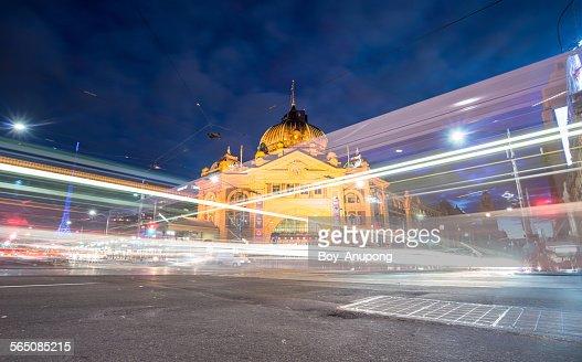 Flinders train station, Melbourne, Australia.