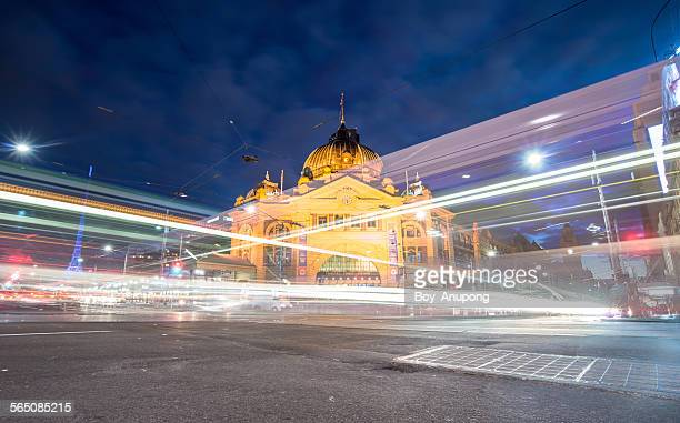Flinders train station, Melbourne, Australia.