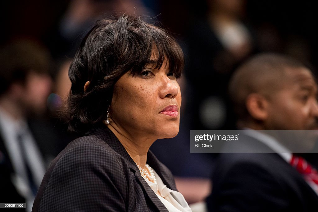 Flint, Mich. Mayor Karen Weaver testifies during the House Democratic Steering & Policy Committee hearing on 'The Flint Water Crisis: Lessons for Protecting America's Children' on Wednesday, Feb. 10, 2016.