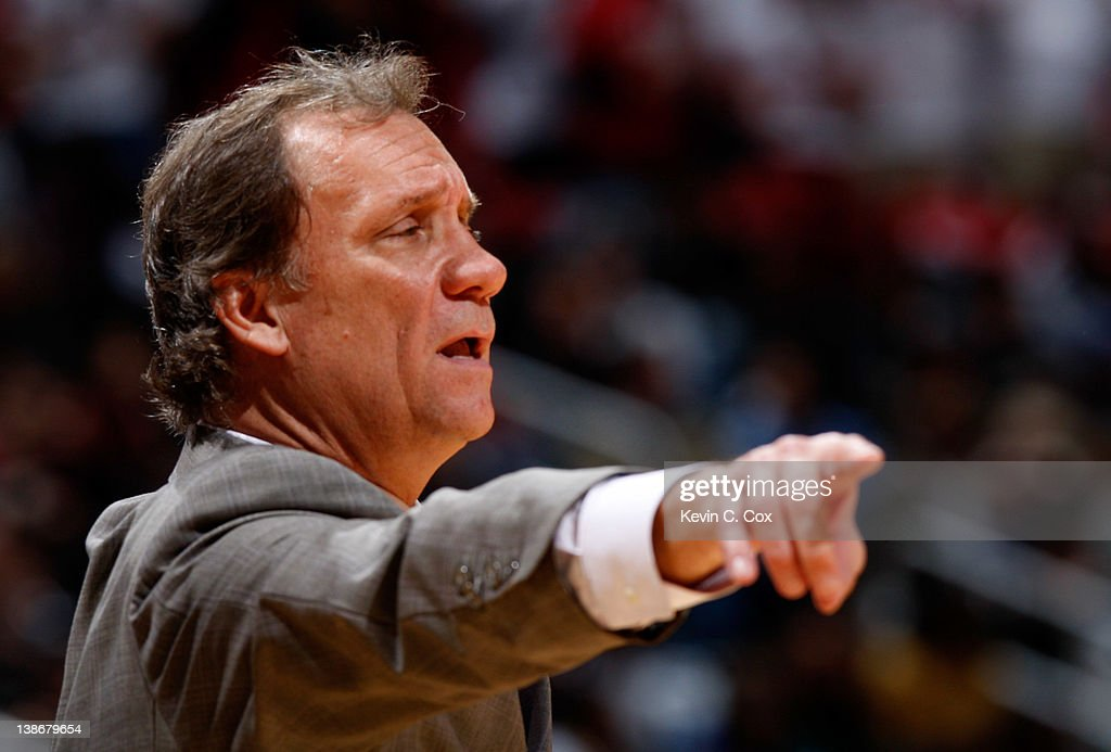 Flip Saunders of the Washington Wizards against the Atlanta Hawks at Philips Arena on December 28 2011 in Atlanta Georgia NOTE TO USER User expressly...
