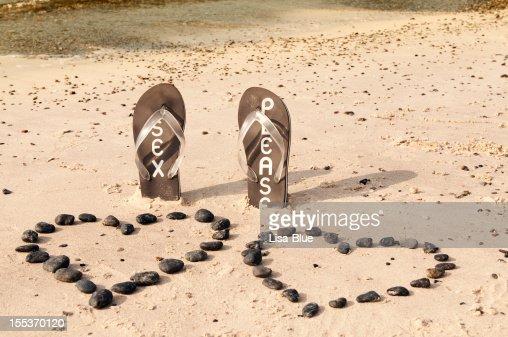 Flip-flop on the Sand