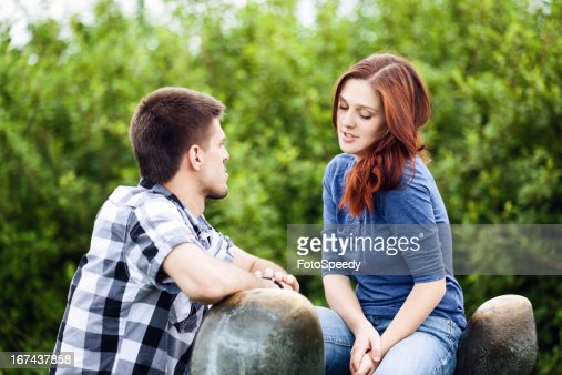 Flirt : Stock Photo
