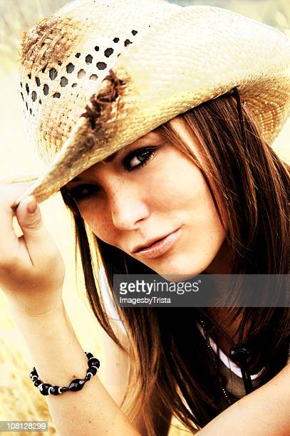Flirty Cowgirl Tipping Hat